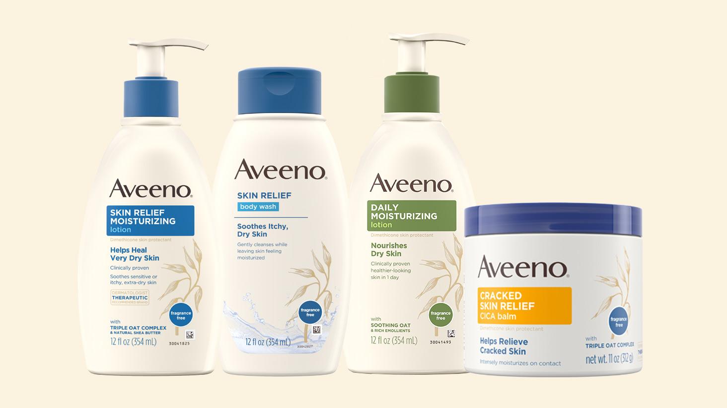 AVEENO® dry skin moisturizers