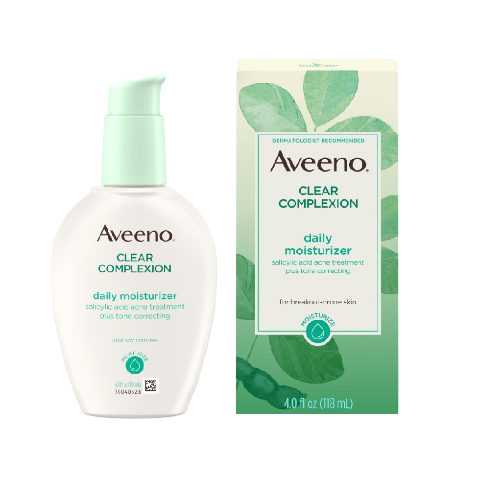 AVEENO® Clear Complexion Daily Moisturizer with Salicylic Acid