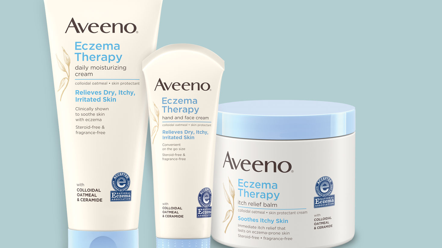 AVEENO® Eczema treatment with oat
