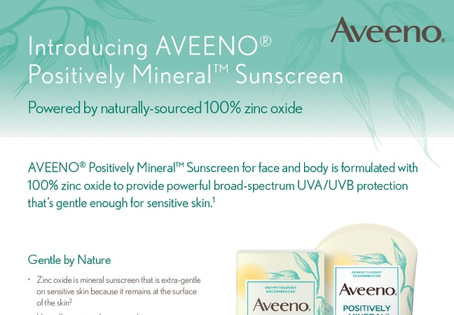 Sensitive Sunscreen Clinical Data