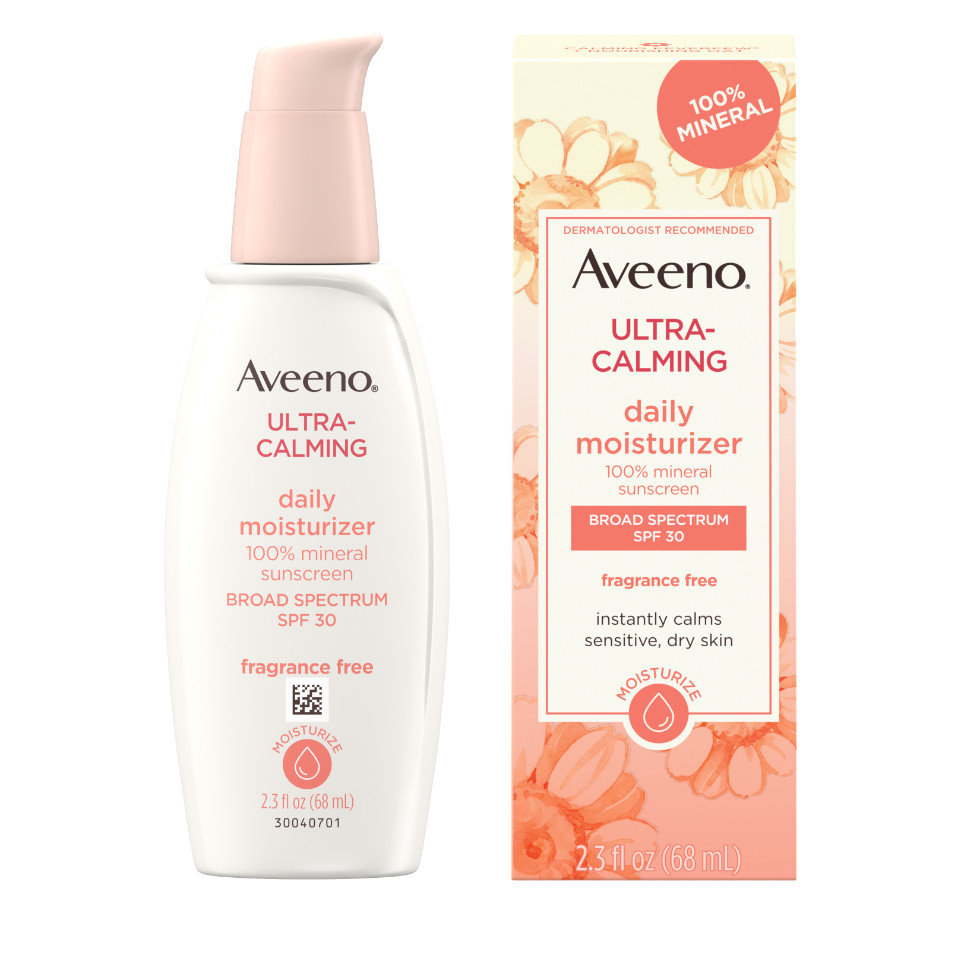 AVEENO ULTRA-CALMING® Daily Facial Moisturizer with SPF 30