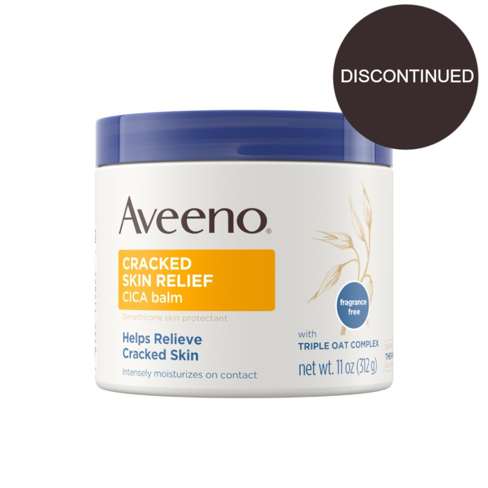 AVEENO® Cracked Skin Relief CICA Balm with Oat & Dimethicone