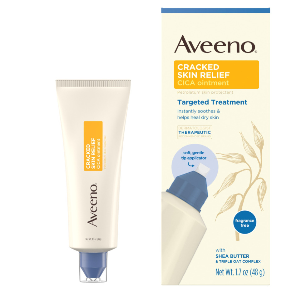 AVEENO® Cracked Skin Relief CICA Ointment with Oat & Shea Butter