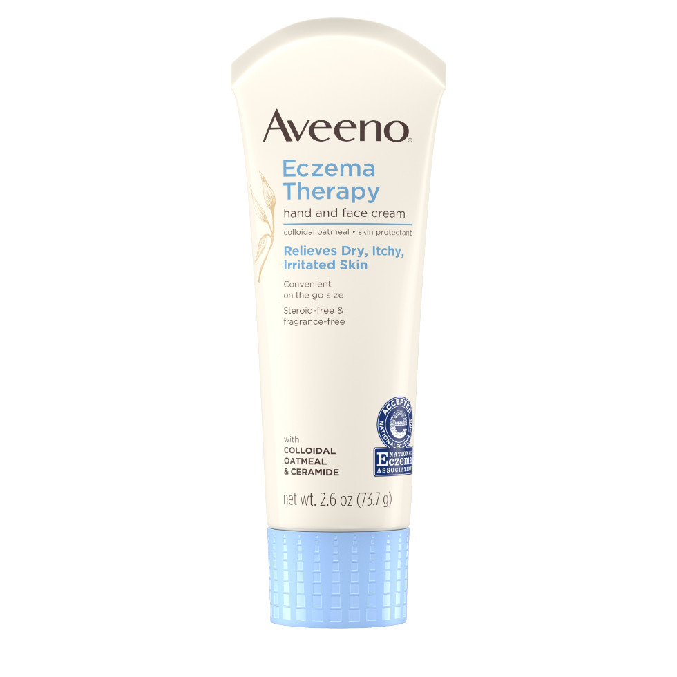 AVEENO® Eczema Therapy Hand and Face Cream with Oatmeal