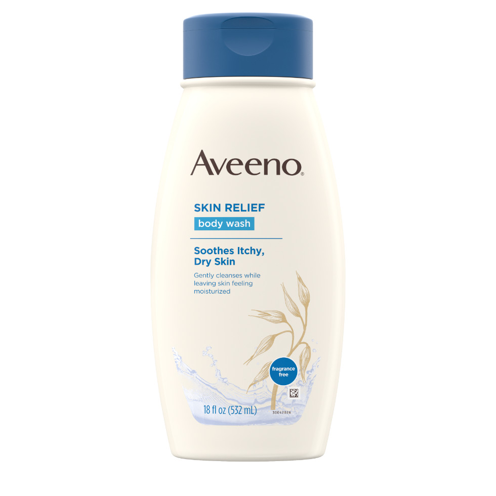 AVEENO® Skin Relief Body Wash Fragrance-Free with Oat and Emollients