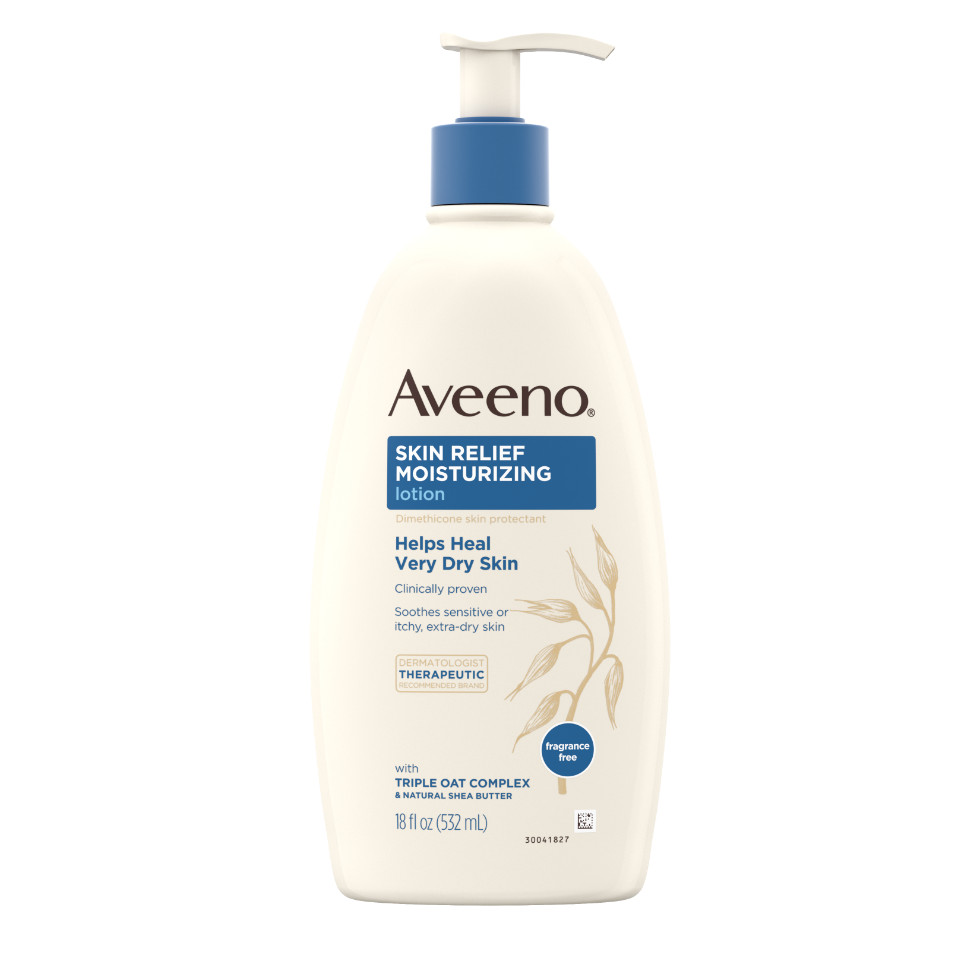 AVEENO® Skin Relief Moisturizing Lotion with oat and shea butter