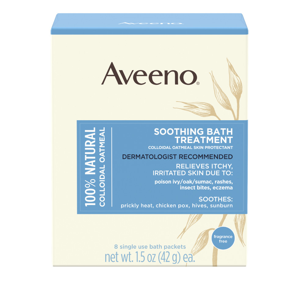 AVEENO® Soothing Bath Treatment with Oatmeal
