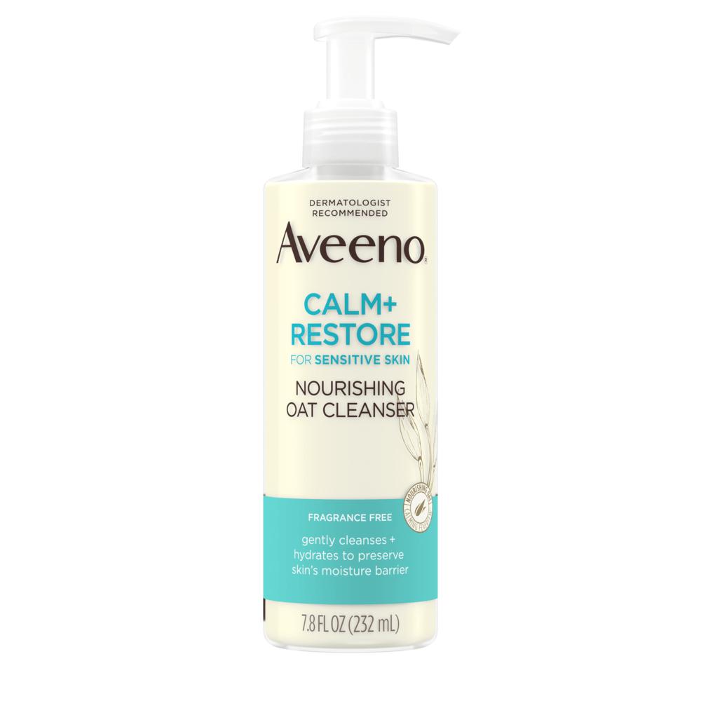 AVEENO CALM + RESTORE™ Nourishing Oat Cleanser, For Sensitive Skin