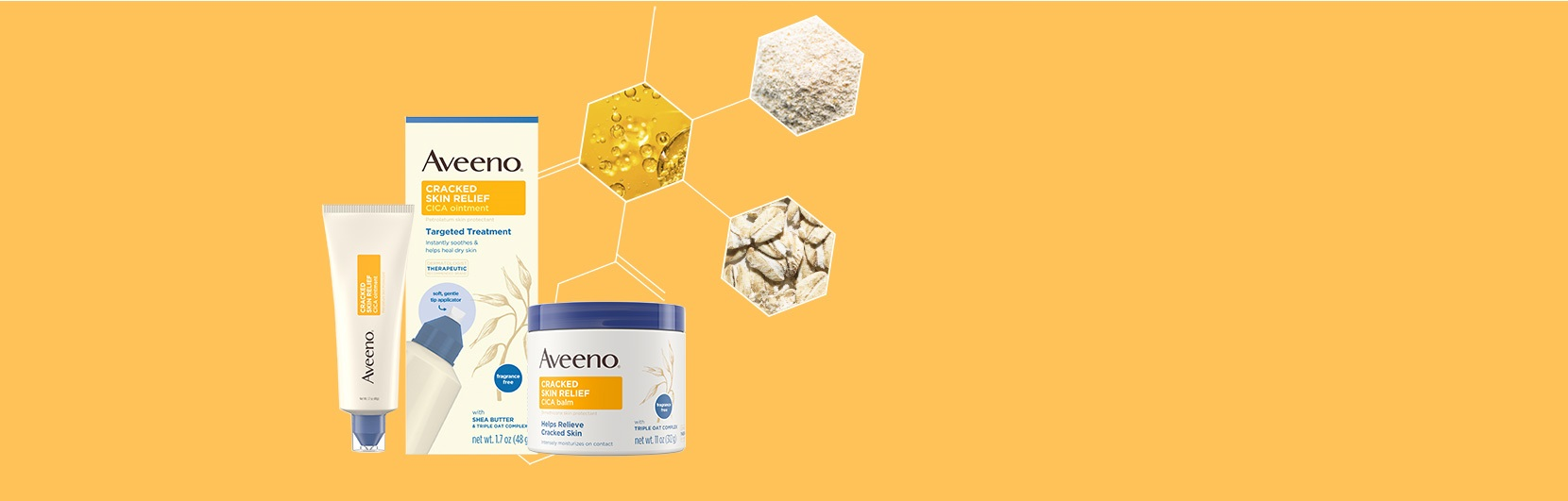 AVEENO® Lotion for Cracked Skin