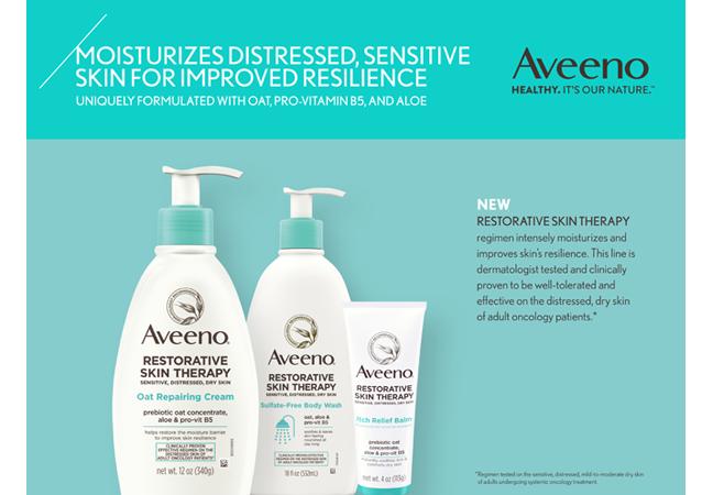 AVEENO ® RESTORATIVE SKIN THERAPY Clinical Data