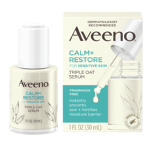 AVEENO CALM + RESTORE™ Triple Oat Serum, For Sensitive Skin