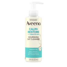 AVEENO CALM + RESTORE™ Nourishing Oat Cleanser, For Sensitive Skin