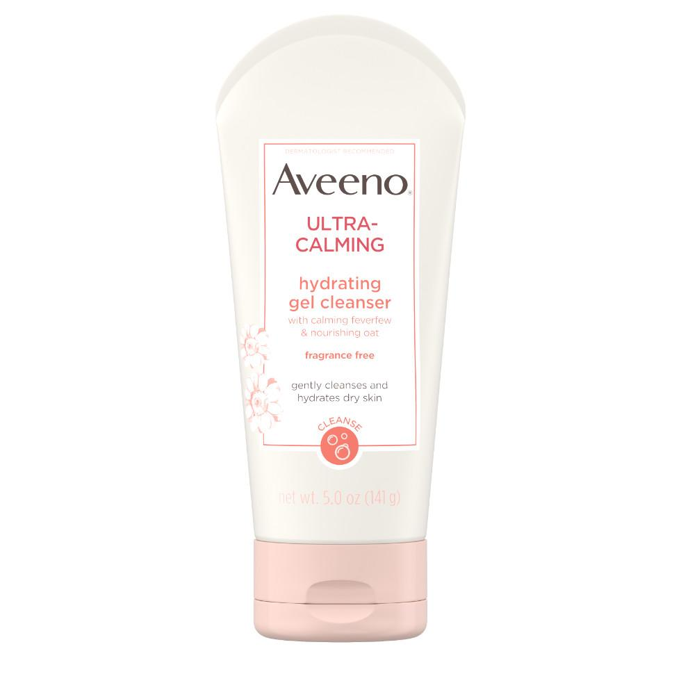 AVEENO ULTRA-CALMING® Hydrating Gel Facial Cleanser for Sensitive Skin
