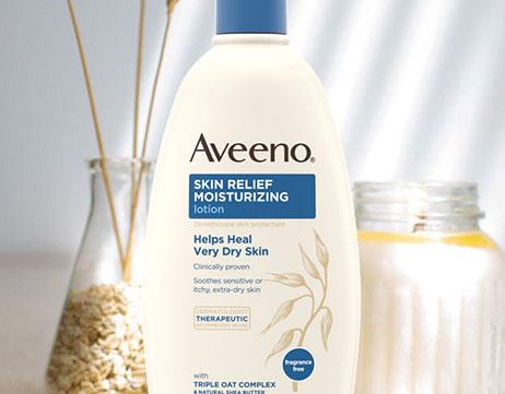 AVEENO® Skin Relief Moisturizing Fragrance-Free lotion