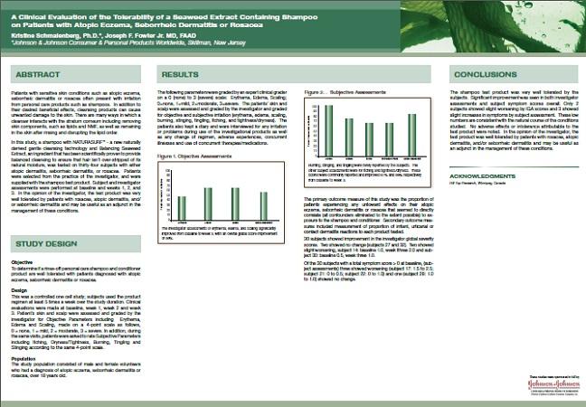 Tolerability of a Seaweed Extract Shampoo